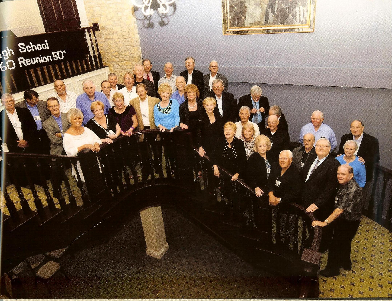 50th reunion group photos 1 amp 2